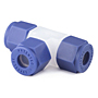 Tee_Plastic_PFA_Tube_Fittings_Union_Tee